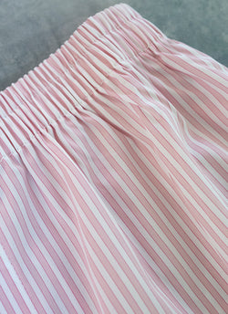 The Perfect Fashion Boxer Short in Light Pink Stripes