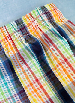 The Perfect Fashion Boxer Short in Multi Color Plaid