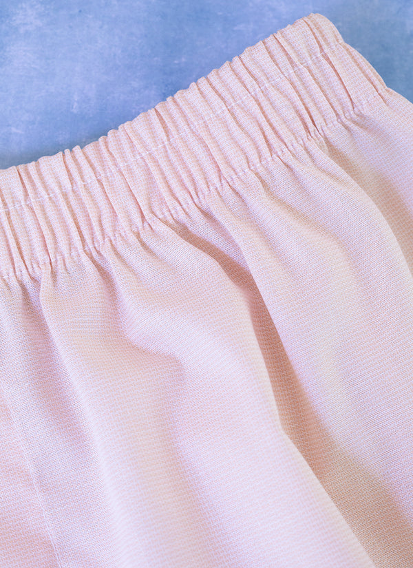 The Perfect Fashion Boxer Short in Pale Pink Texture