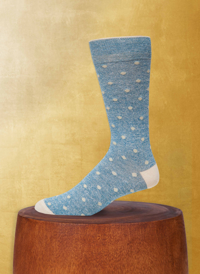 Afromood Dots Sock in Teal