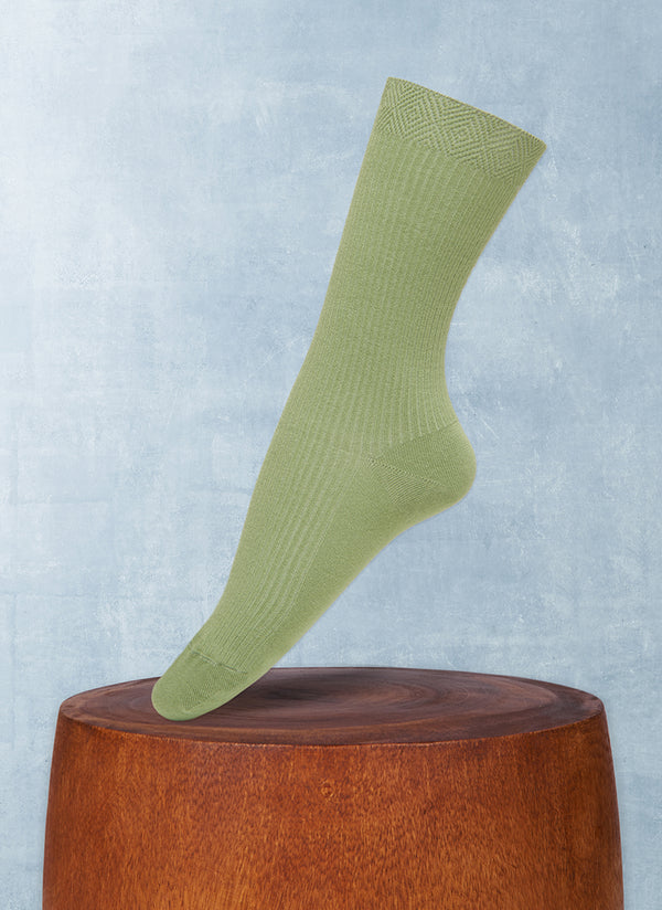 Women's Trouser Ribbed Sock in Bocciolo