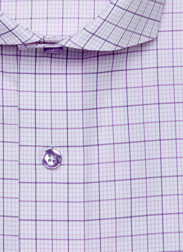 Maxwell in Pink & Purple Check Shirt