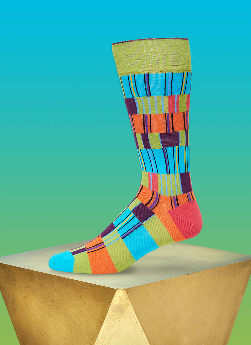 """Off The Heezy"" Sock in Green"