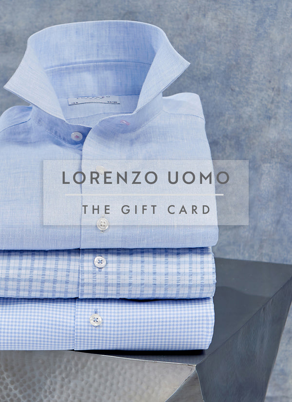 The Lorenzo Uomo Gift Card