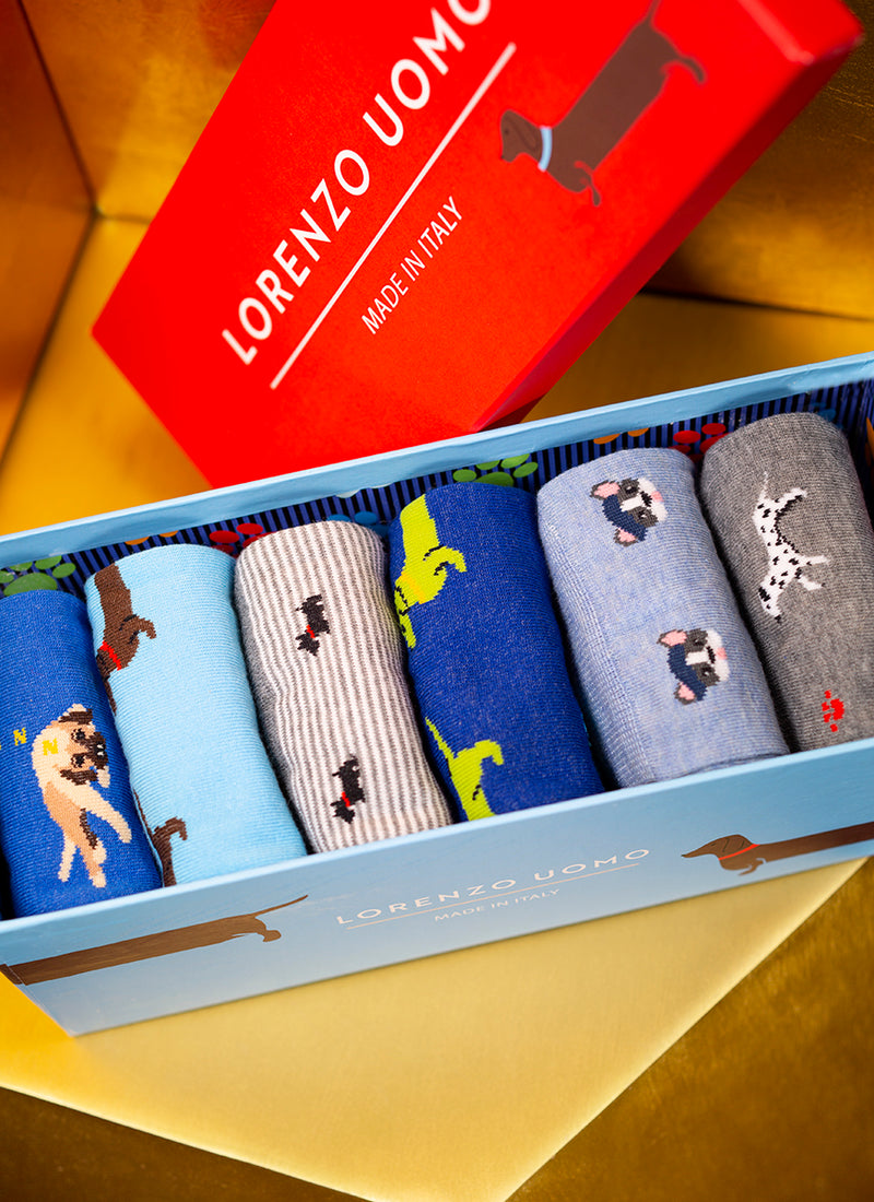 Endless Love Men's Socks (Box of 6)