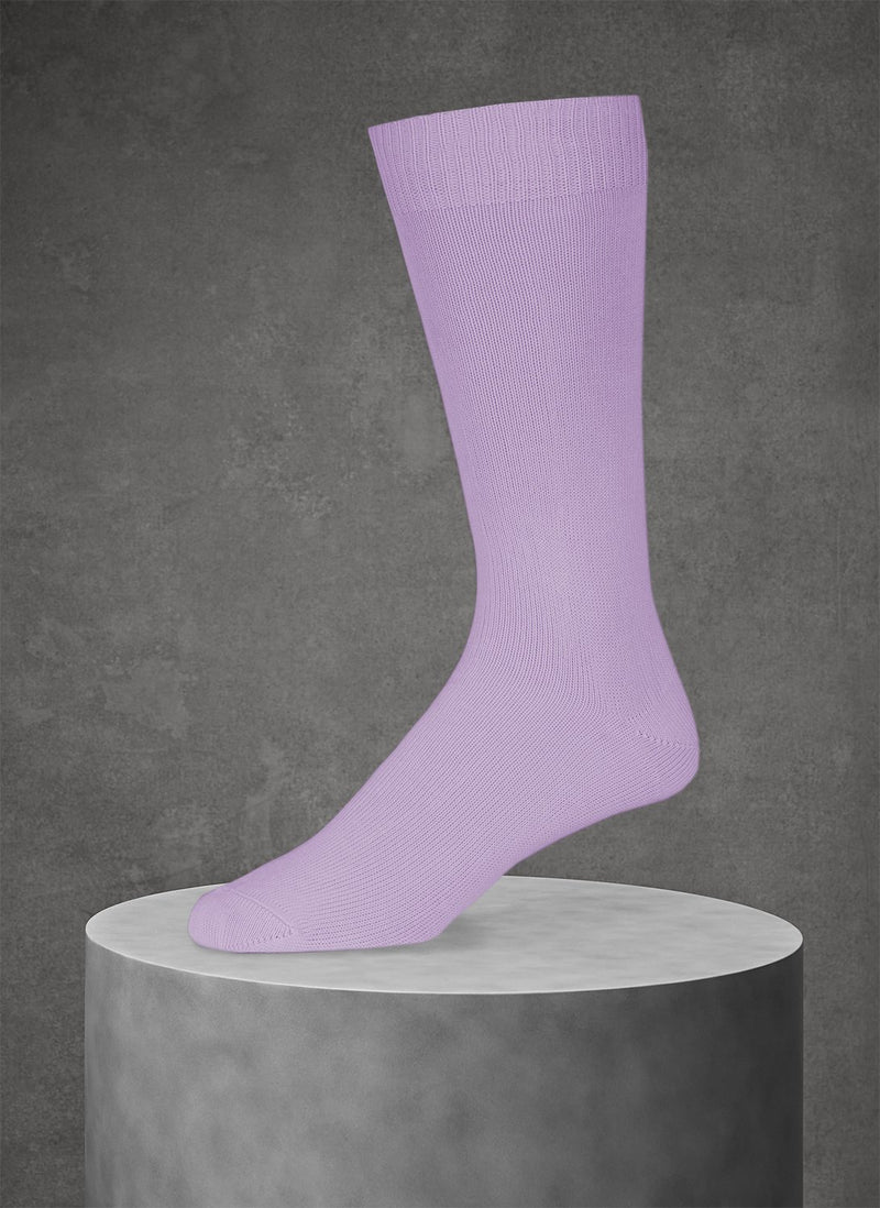 Egyptian Cotton Sock in Lavender