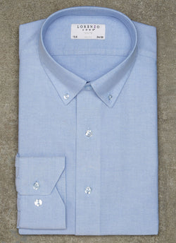 Alexander in Blue Oxford