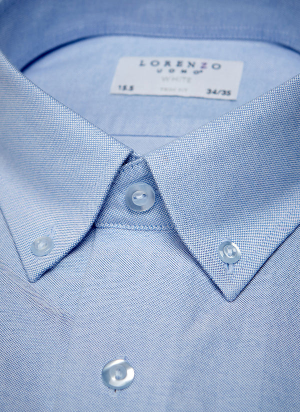 Alexander in Blue Oxford Shirt