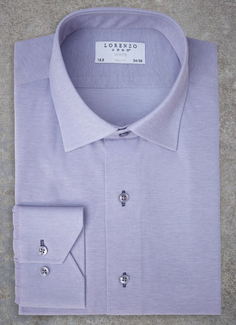 Alexander in Periwinkle Knit Shirt