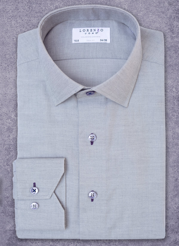 Alexander in Grey Cashmere Shirt