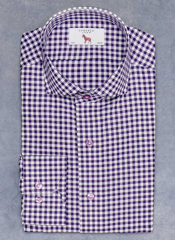 Maxwell in Purple Gingham