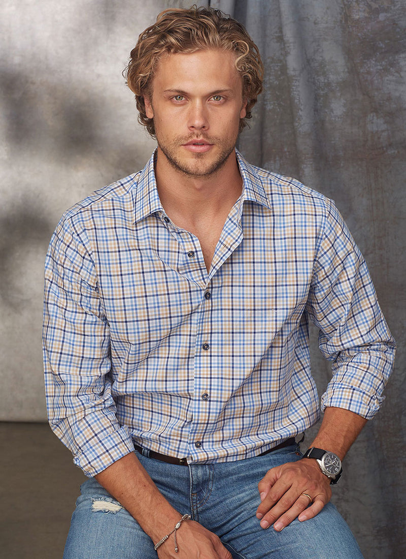 Alexander in Blue & Yellow Plaid