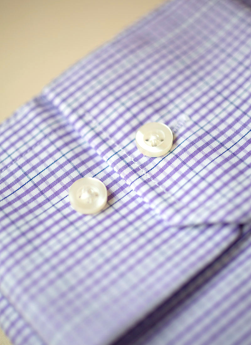 William in Purple Gingham