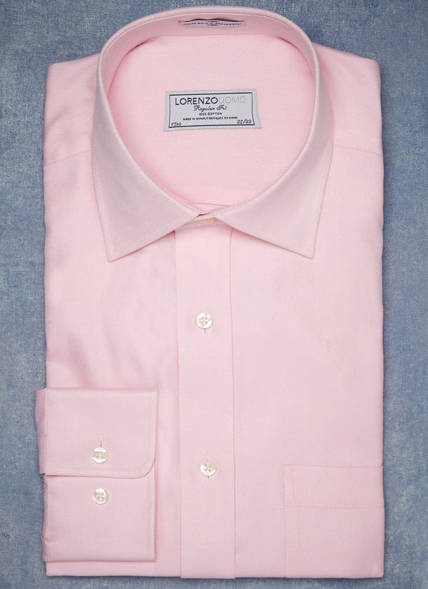 William Fullest Fit Shirt in Pink Twill
