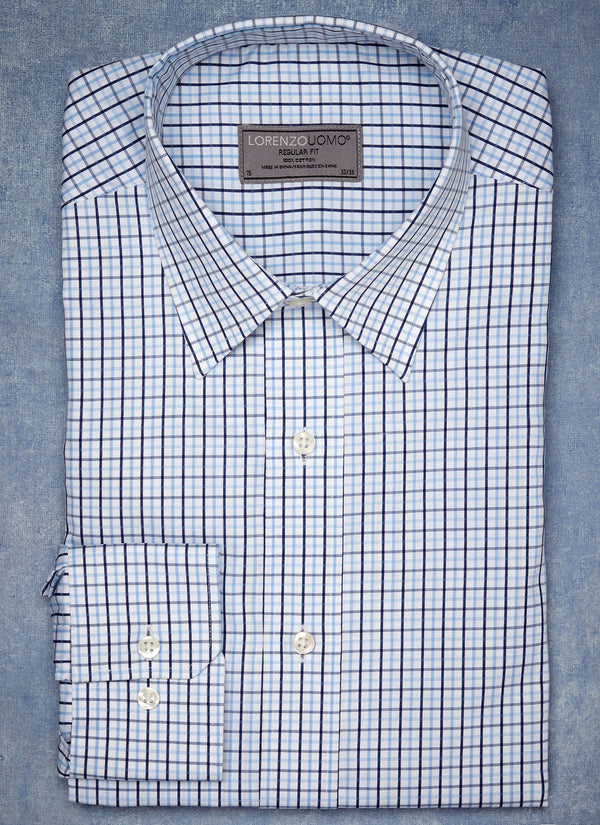 William Fullest Fit Shirt in Windowpane
