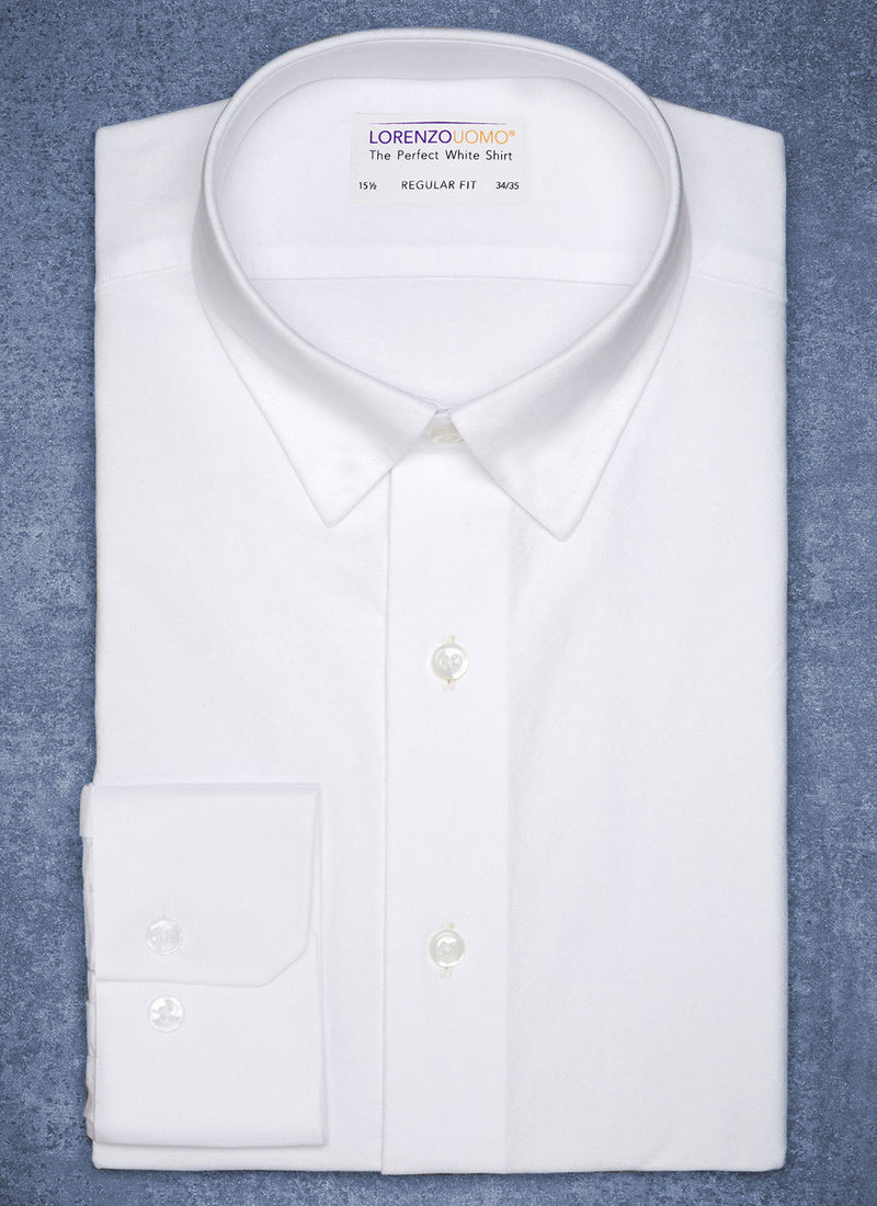 THE PERFECT WHITE SHIRT® IN WHITE full and folded