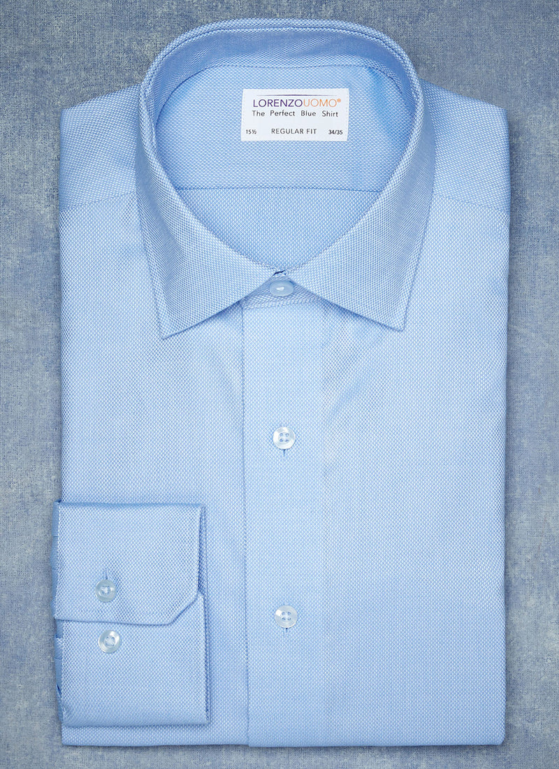 The Perfect White Shirt® in Blue