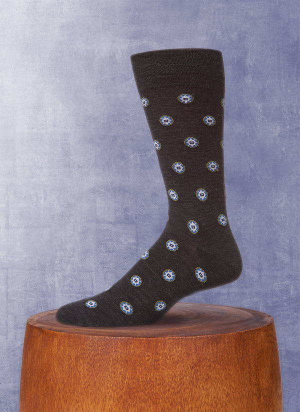 Foulard Sock in Brown