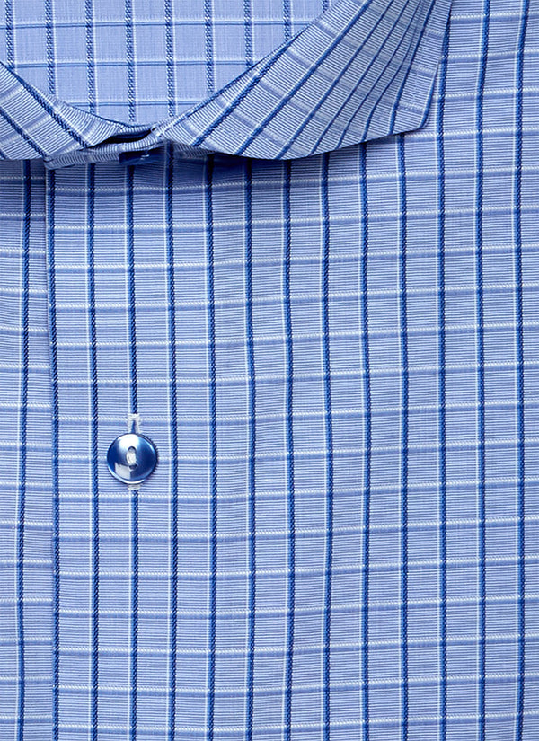 Alexander in Blue Windowpane