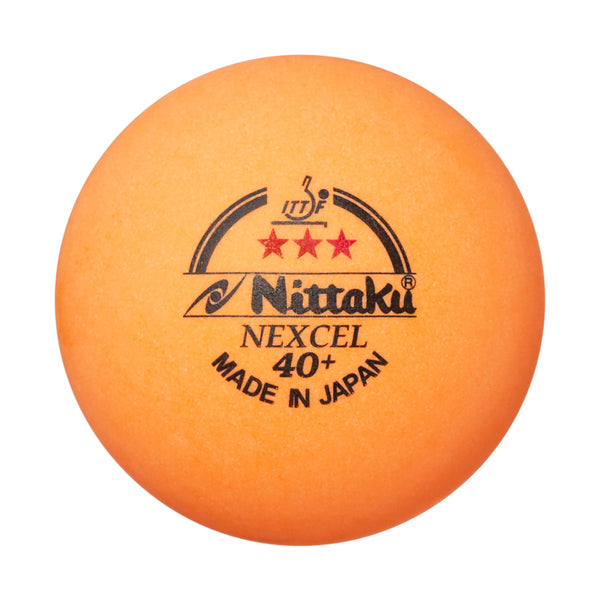 Nittaku Nexcel 40+ Kunststoffball | Orange