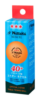Nittaku Nexel 40+ Kunststoffball | Orange