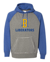 Raglan Hoodie- Bolivar 9U and 13U Liberator Fan Gear