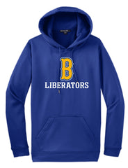Moisture Wicking Hoodie- Bolivar 9U and 13U Liberator Fan Gear