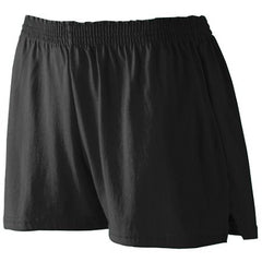 Ladies Basic Black Shorts - BMS Physical Education