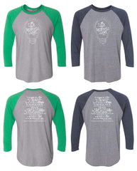 Light Bulb Baseball Tee - East Montgomery CC