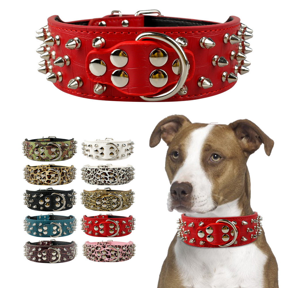 Spiked Studded Dogs Collars