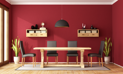 Decorate Your Home with Red