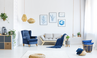 Are You Blue? Finding the Perfect Interior Design Color Scheme