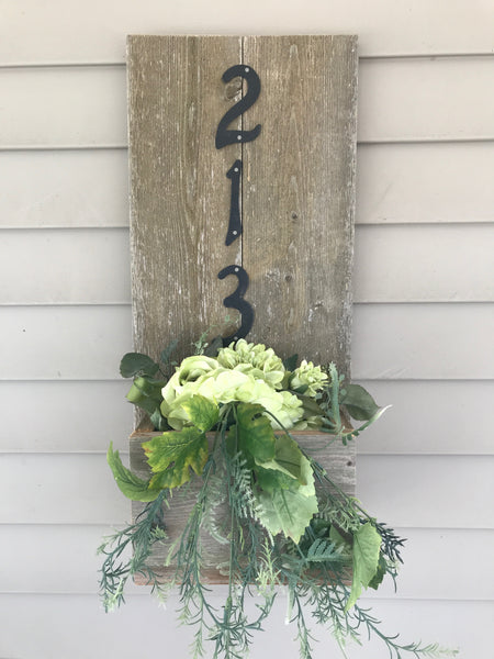 Delight In Designs-Stylizing Spaces Blog-Cute Decor For A Proud Michigander- Cedar Address Box
