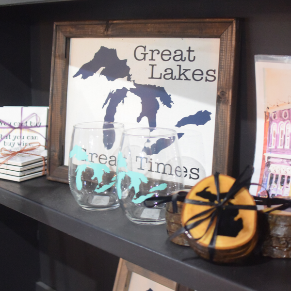 Delight In Designs-Stylizing Spaces Blog-Cute Decor For A Proud Michigander- Lake Canvas
