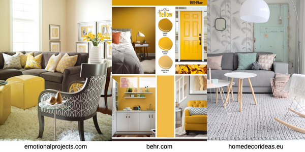 Delight In Designs - We're bringing Pretty Back - Yellow, Mint, Blush Pink Room Decor - Interior Design