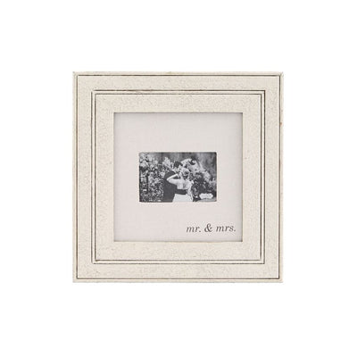 Mud Pie Mr. & Mrs. Frame Distressed - Delight In Designs