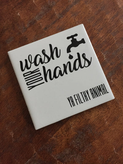 Wash Your Hand Tiles - Delight In Designs