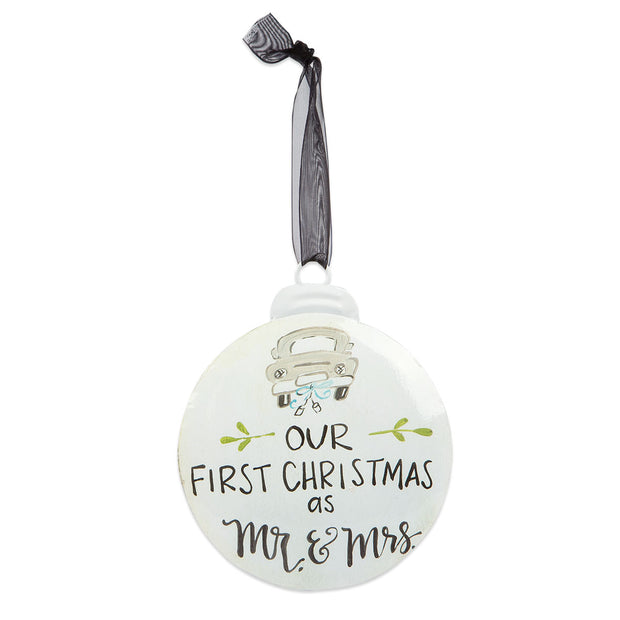 OUR 1ST CHRISTMAS ORNAMENT - Delight In Designs