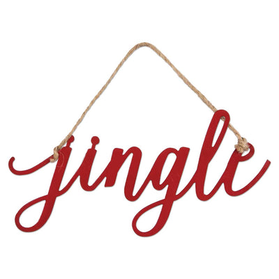 JINGLE METAL WORD CHARM - Delight In Designs