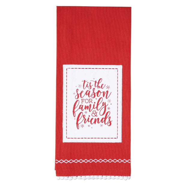 Tis The Season Christmas Tea Towel - Delight In Designs