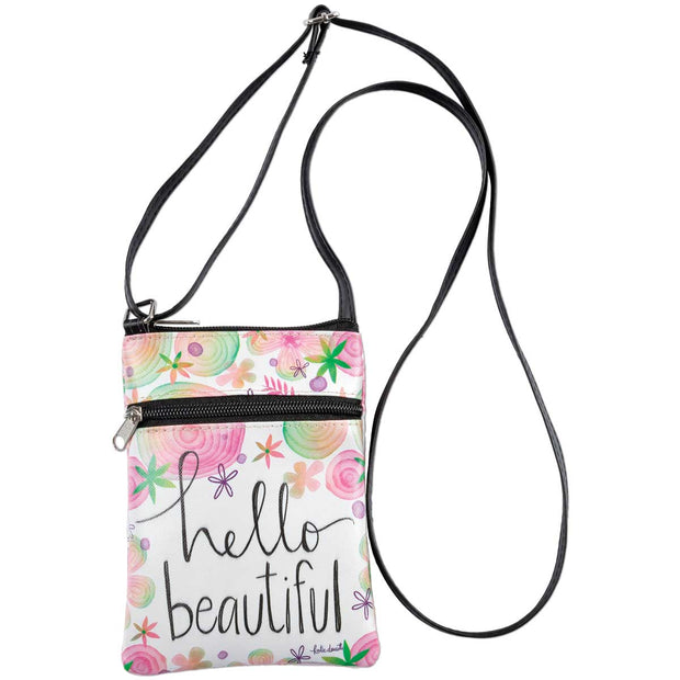 Hello Beautiful Crossbody Bag - Delight In Designs