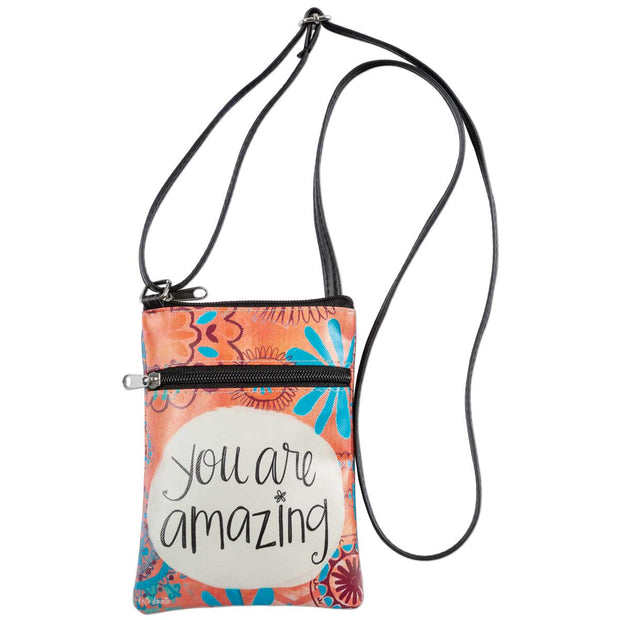 You Are Amazing Crossbody Bag - Delight In Designs