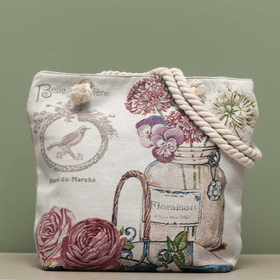 French Garden Tapestry Bag - Delight In Designs