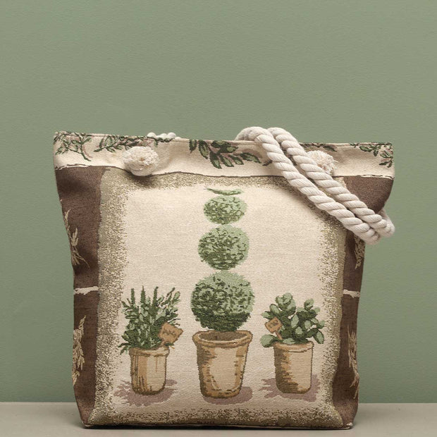 Topiary Tapestry Bag - Delight In Designs