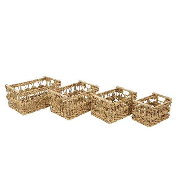 Water Hyacinth Basket - Delight In Designs