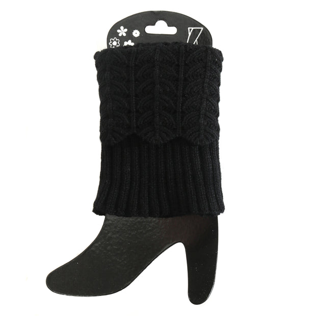 Crochet Boot Cuff Short - Delight In Designs