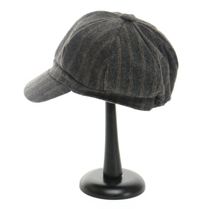 Grey Railroad Cap - Delight In Designs