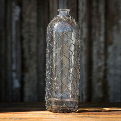 Bottle # 16 With Poultry Wire