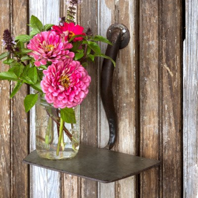 Garden Hoe Shelf - Delight In Designs