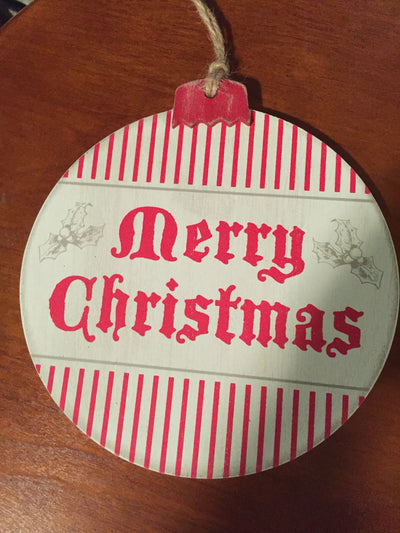 Merry Christmas sign - Delight In Designs